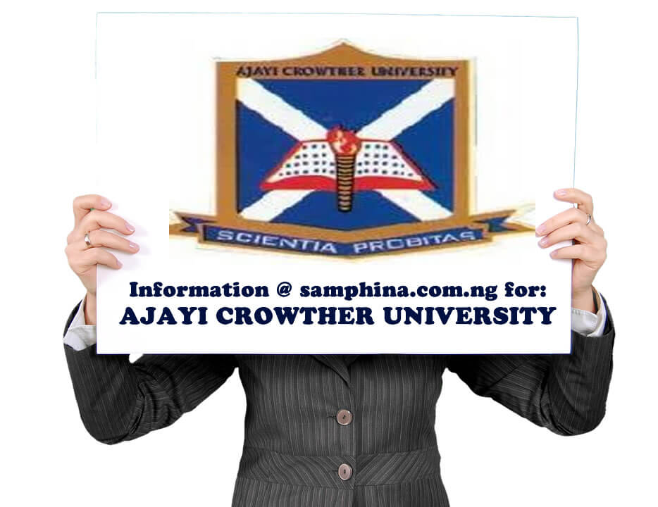 AJAYI CROWTHER UNIVERSITY ACU