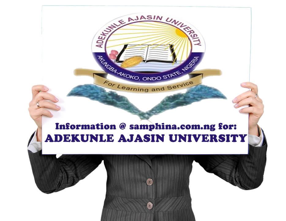Adekunle Ajasin University AAUA