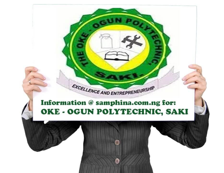 Oke Ogun Polytechnic Saki