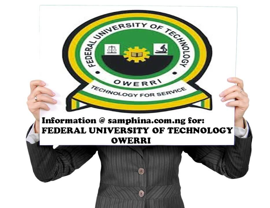 Federal University of Technology Owerri (FUTO)