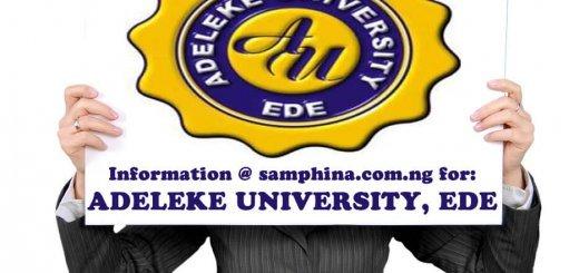 Adeleke University ede