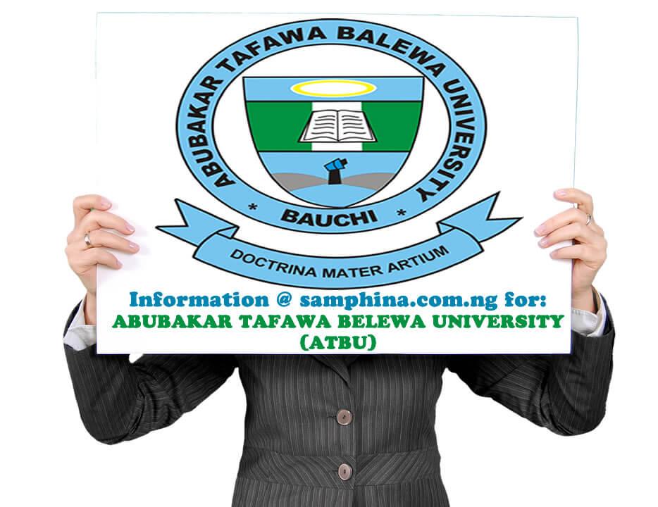 Abubakar Tafawa Balewa University ATBU