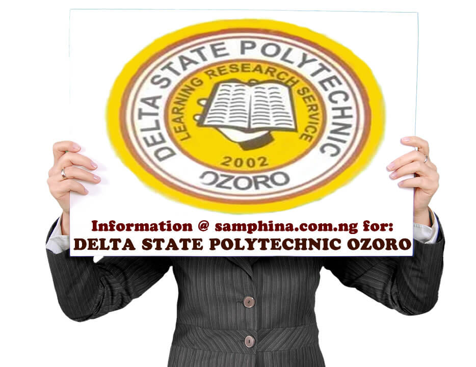 2019 List of Courses Offered in Delta State Polytechnic, Ozoro