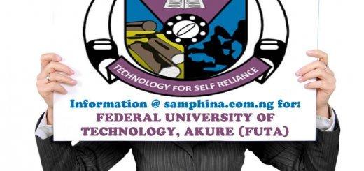Federal University of Technology Akure FUTA