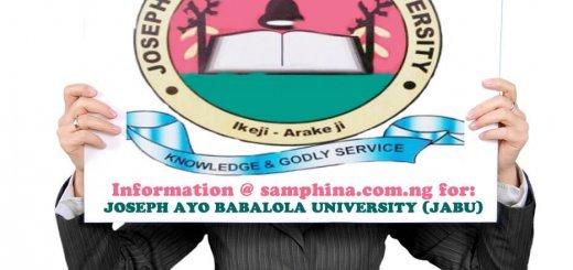 Joseph Ayo Babalola University Ikeji Arakeji JABU