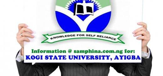 Kogi State University Ayigba KSU