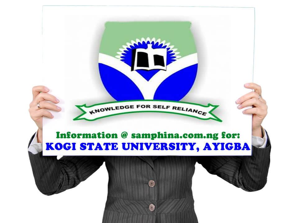 Kogi State University, Ayigba (KSU)