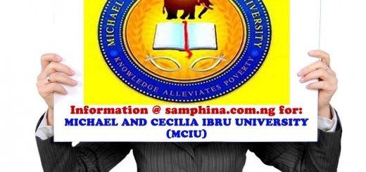 Michael and Cecilia Ibru University MCIU