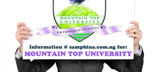 Mountain Top University Ogun State