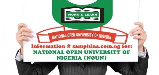 National Open University of Nigeria NOUN