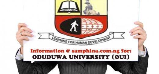 Oduduwa University OUI