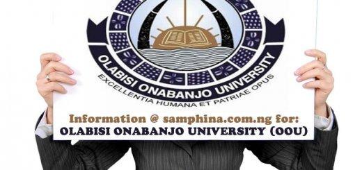 Olabisi Onabanjo University Ago Iwoye Ogun State OOU