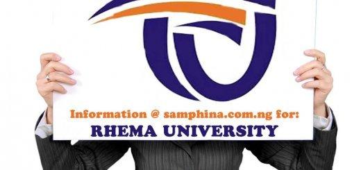 Rhema University Aba Abia State