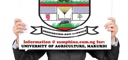 University of Agriculture Makurdi FUAM
