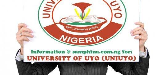 University of Uyo Uyo Akwa Ibom State UNIUYO