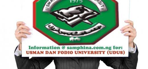 Usmanu Dan Fodio University Sokoto Sokoto State UDUS