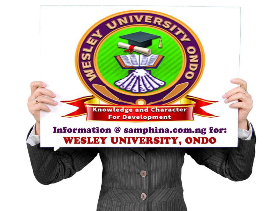 Wesley University Ondo