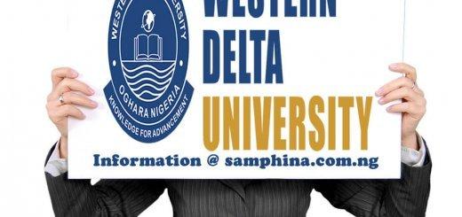 Western Delta University Oghara Delta State WDU