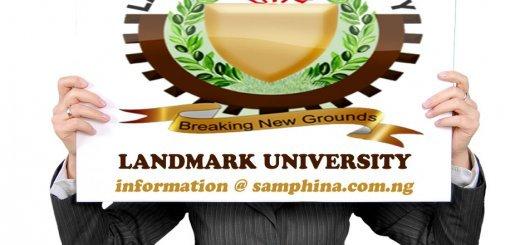 Landmark University Kwara State LU