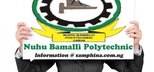 Nuhu Bamalli Polytechnic NUBAPOLY