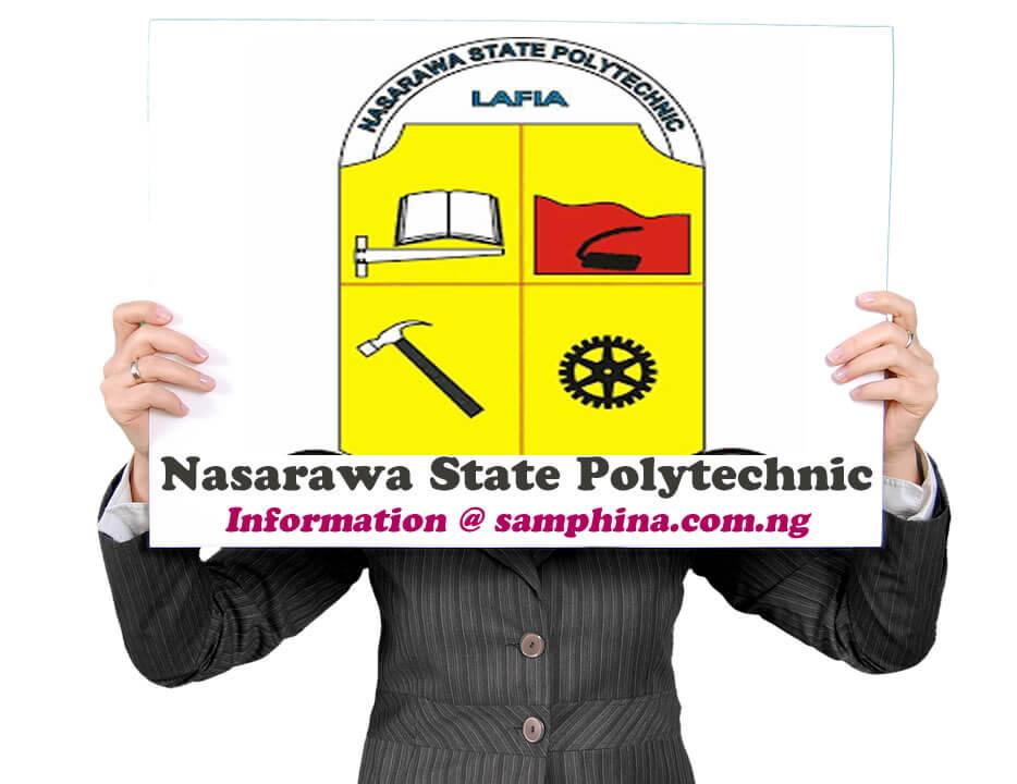 Nasarawa State Polytechnic NASARAWAPOLY
