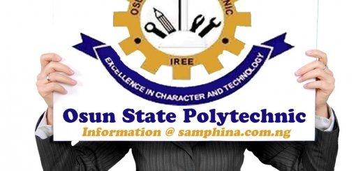 Osun State Polytechnic Iree