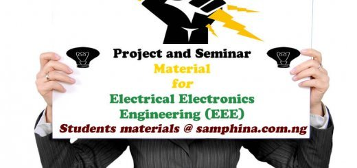Project and Seminar Material For Electrical Electronics Engineering EEE