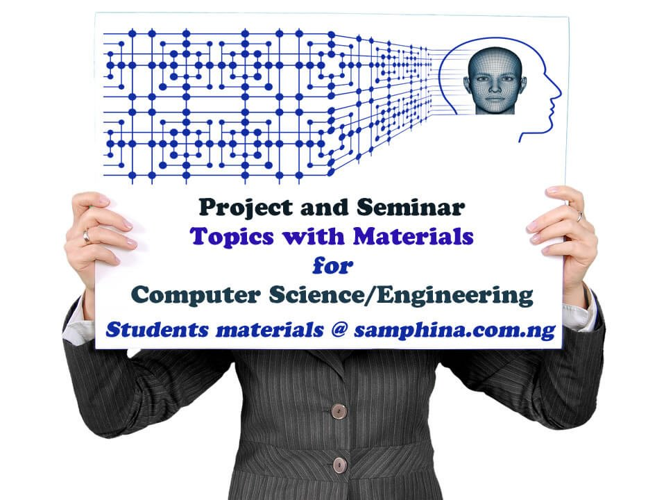 Project and Seminar Topics with Materials for Computer Science and Computer Engineering