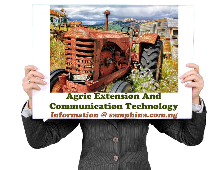 Agric Extension And Communication Technology
