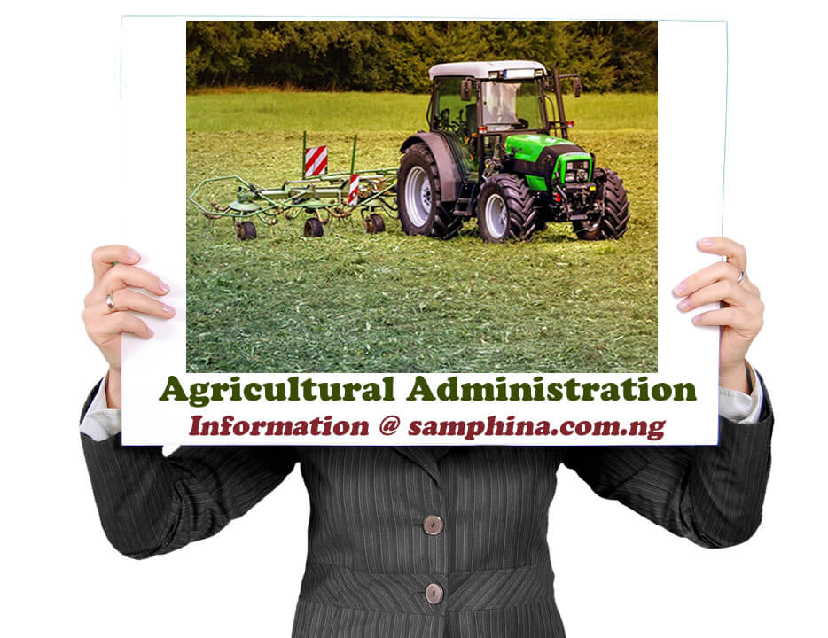 Agricultural Administration