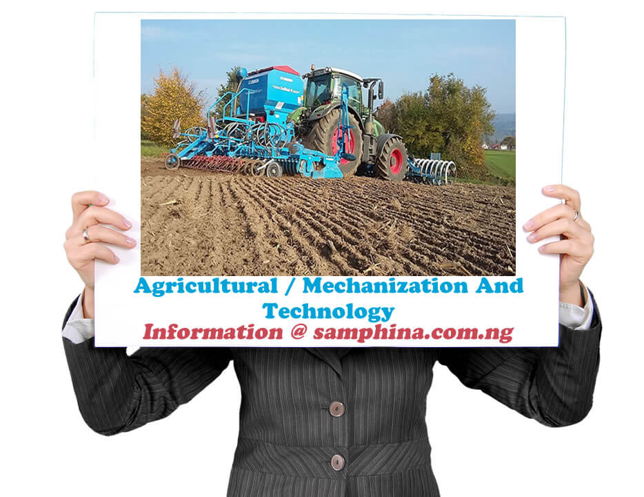 Agricultural Mechanization And Technology