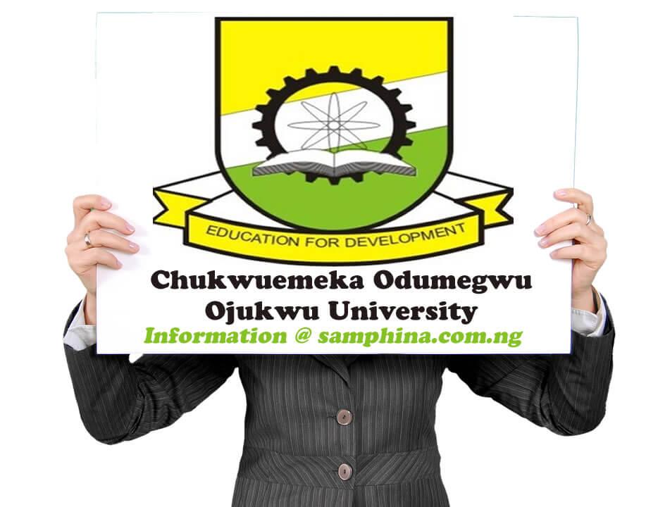 Chukwuemeka Odumegwu Ojukwu University COOU