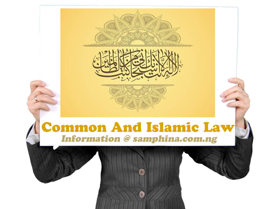 Common And Islamic Law