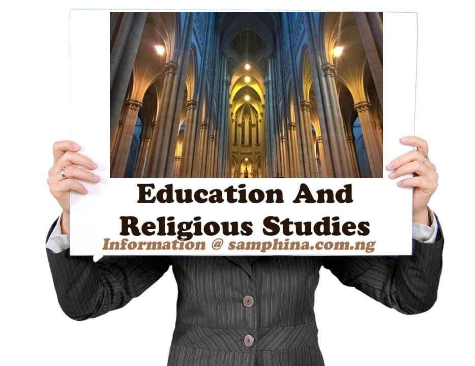 Education And Religious Studies