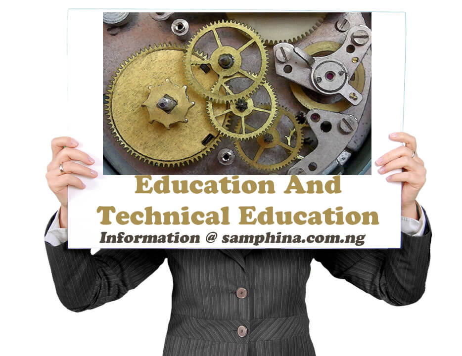 Education And Technical Education