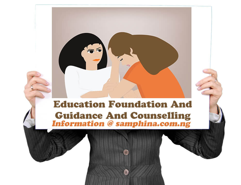 Education Foundation And Guidance And Counselling