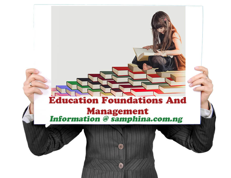 Education Foundations And Management