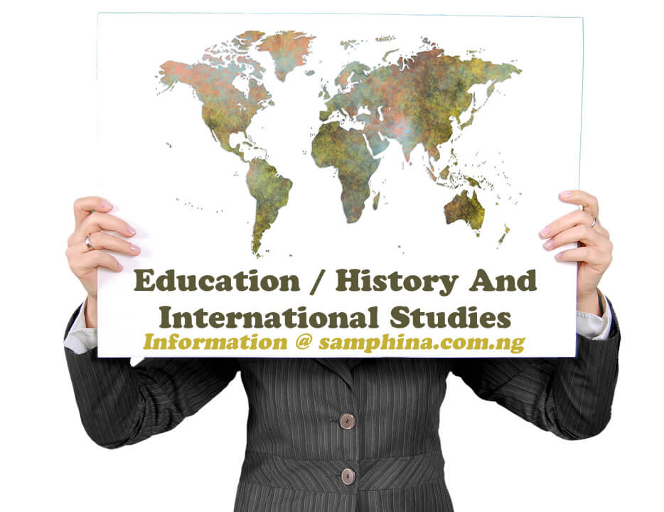 Education History And International Studies