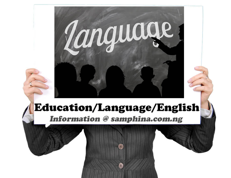 Education Language English