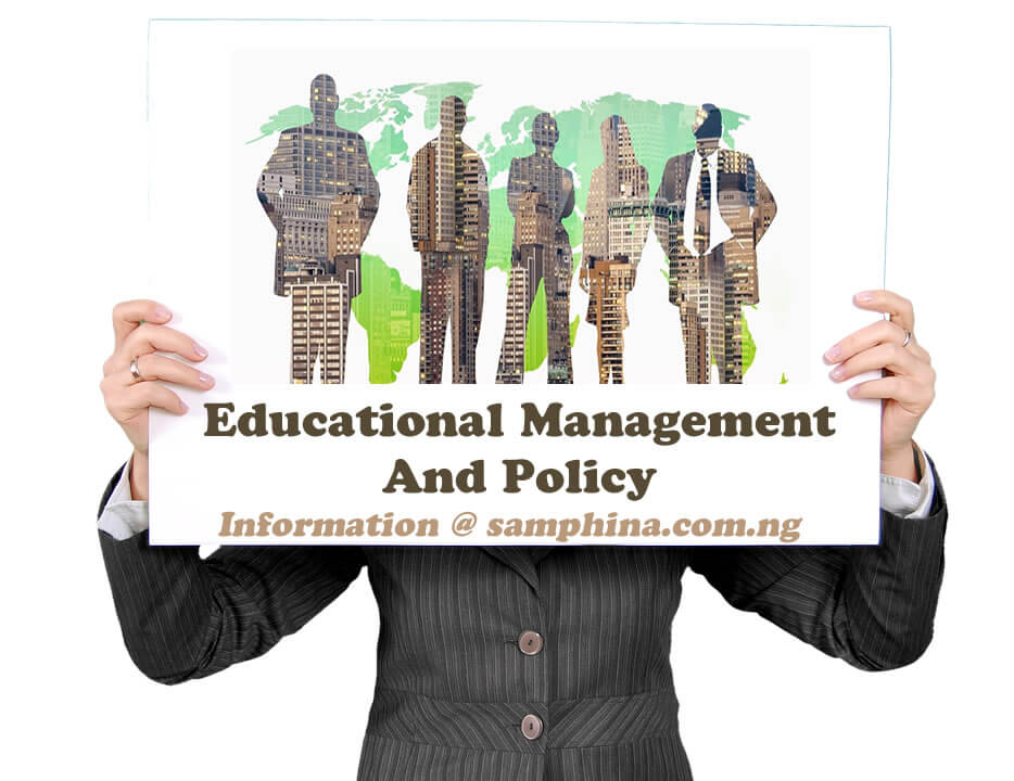 Educational Management And Policy
