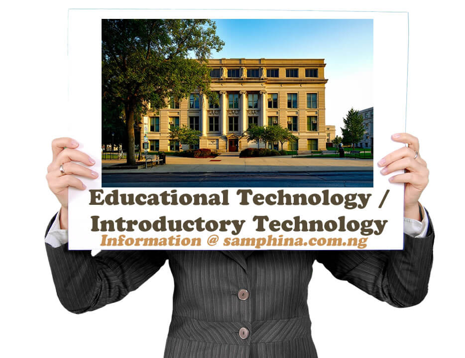Educational Technology Introductory Technology