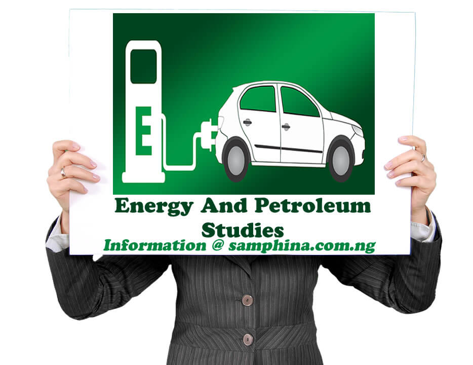 Energy And Petroleum Studies