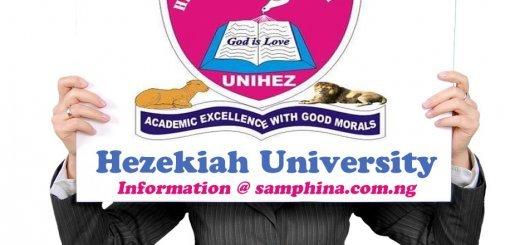 Hezekiah University Umudi UNIHEZ