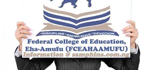 Federal College of Education Eha Amufu FCEAHAAMUFU