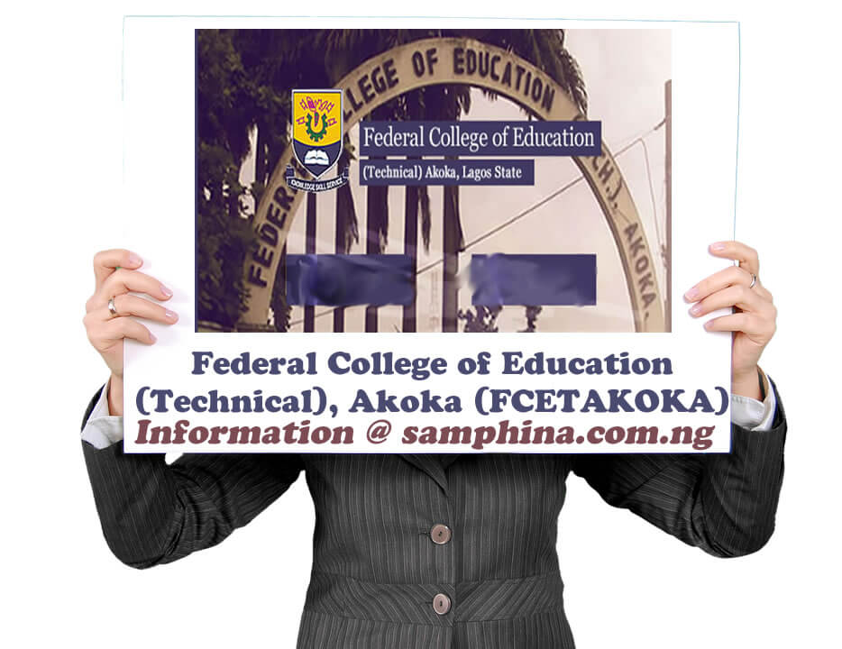 Federal College of Education Technical Akoka FCETAKOKA