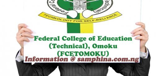 Federal College of Education Technical Omoku FCETOMOKU