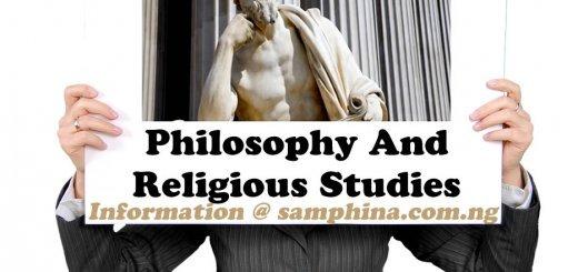 Philosophy And Religious Studies