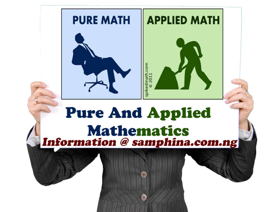 2019 Universities Offering Pure And Applied Mathematics in