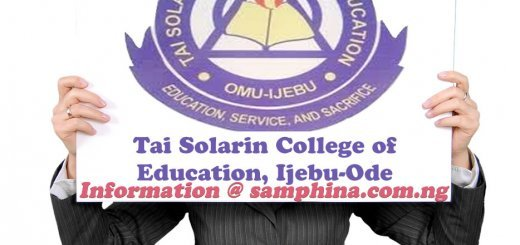 Tai Solarin College of Education Ijebu Ode (TASUED)
