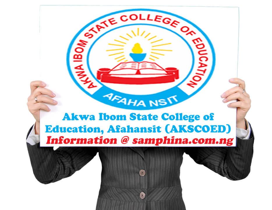 Akwa Ibom State College of Education Afahansit AKSCOED